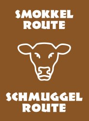 Smokkel route / Schmuggel route